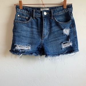 Gilded Intent | Jean Shorts